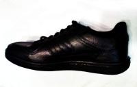 Кроссовки Динамо чёрные полностью кожаные