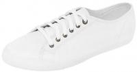 Кроссовки текстильные (спортивные тапочки) белого цвета